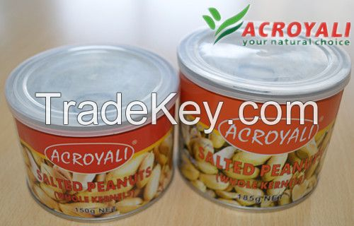 Canned Roasted and Salted Peanut