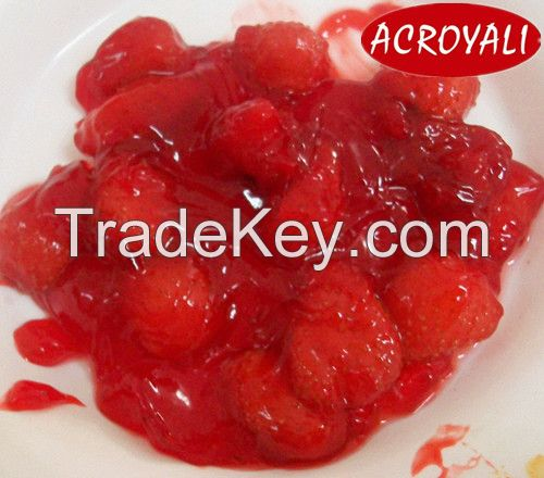 Canned Strawberry Pie Filling or Topping(fruit pie fillings)