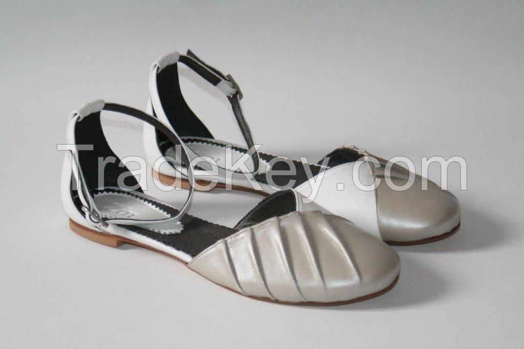 Lamb leather shoes
