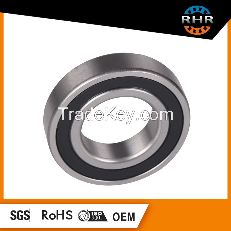 rubber seal bearing 6201-2RS deep groove ball bearing