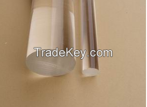 Clear acrylic round rod /plexiglass rod for light