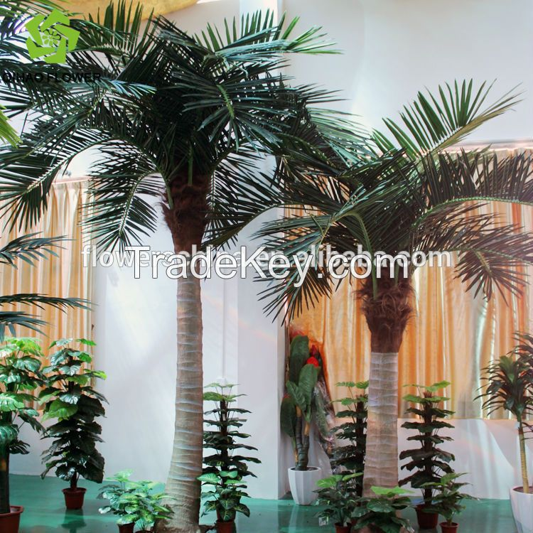 4M Artificial Palm Tree Indoor Decoration House / Hotel Palm Tree