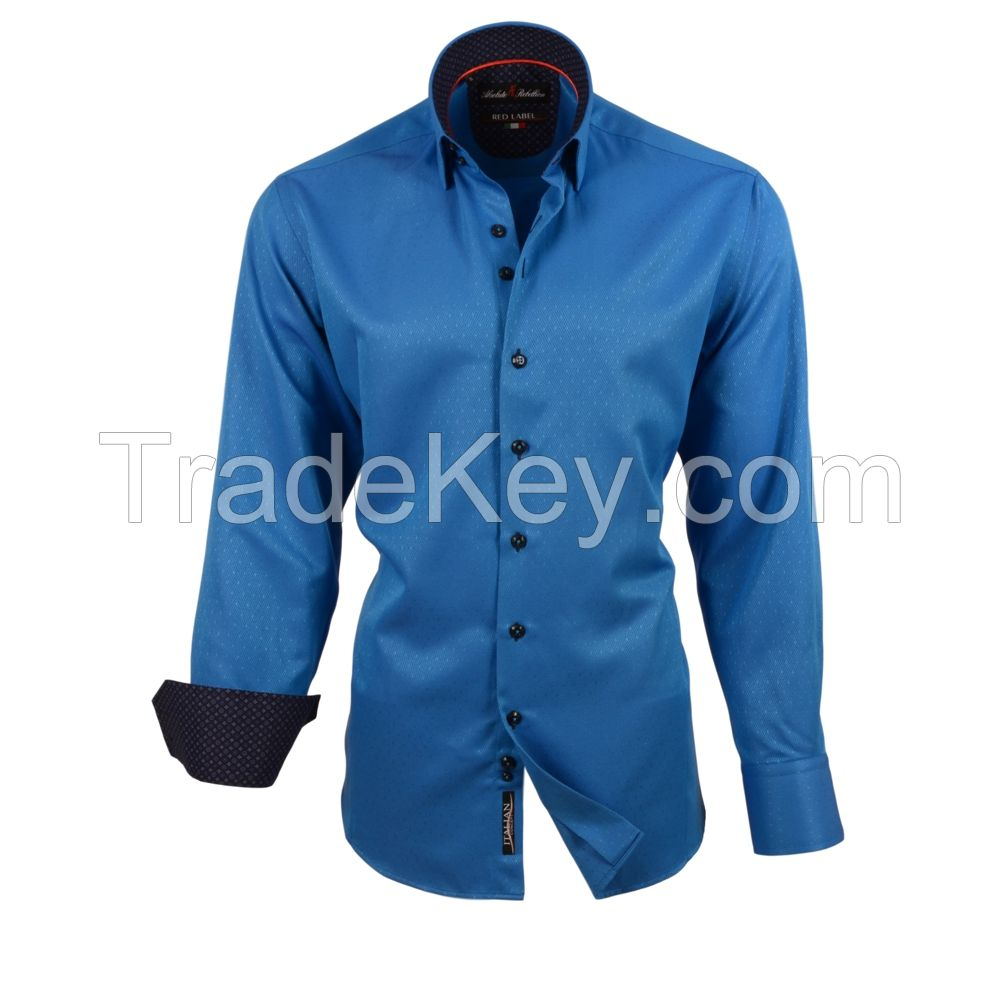 American Brand Italian Style and Made in Turkey Pure Cotton Shirts for Men