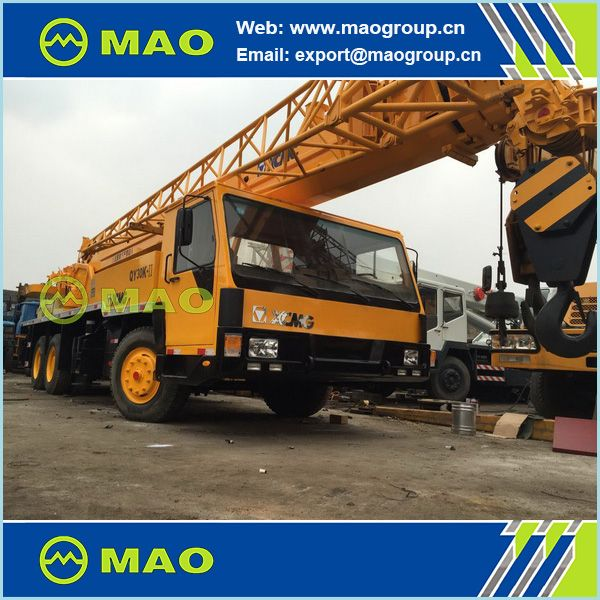 XCMG 70T truck crane QY70K in Shanghai, China