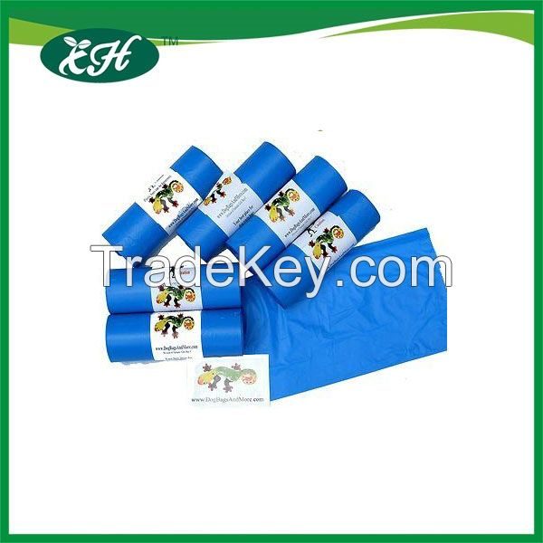 2016 new products 100% biodegradable plastic dog waste bags