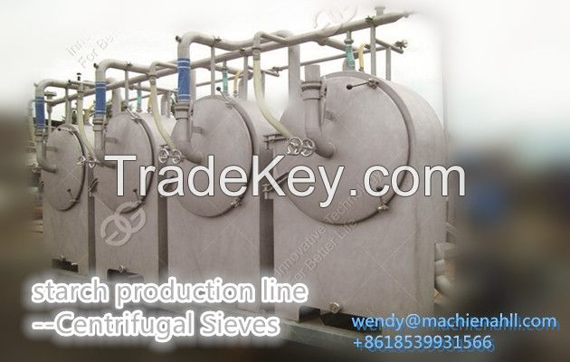 high quality cassava starch processing machine with CE