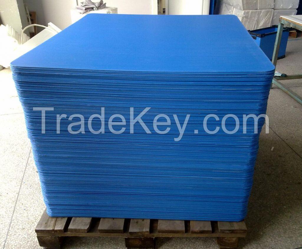 Sealed plastic sheet