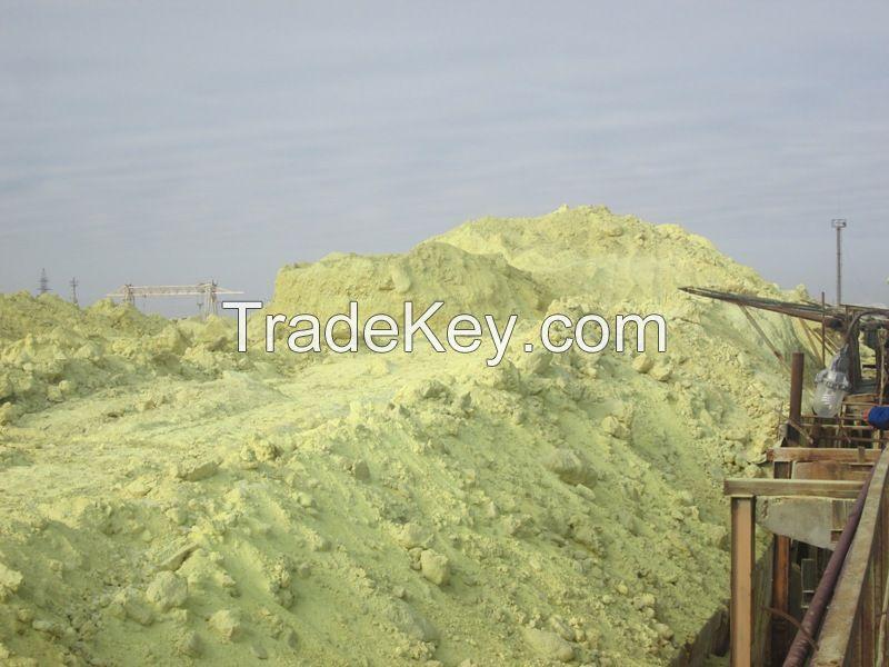 Sulphur lump, granular