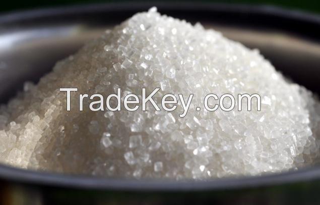 Crystal white refined cane sugar icumsa 45