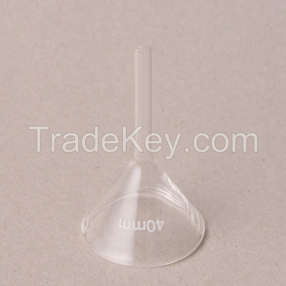 HUAOU Funnel, short stem,  Boro 3.3 glass