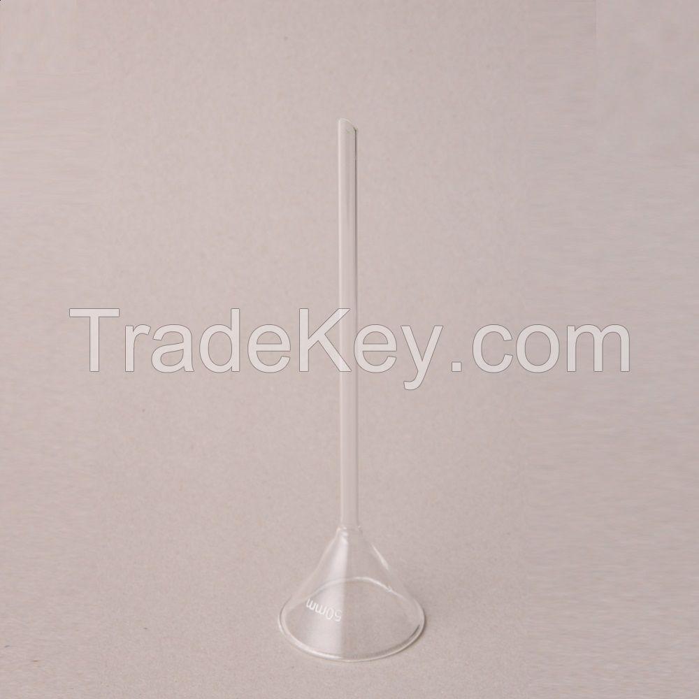 HUAOU Funnel, long stem, Boro 3.3 glass