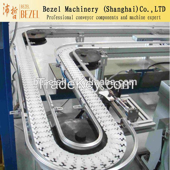 POM Flush Grid Plastic Modular Chain/Flexible conveyor belt