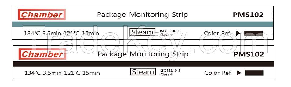 Sterilization chemical indicators for Steam, Ethylene Oxide
