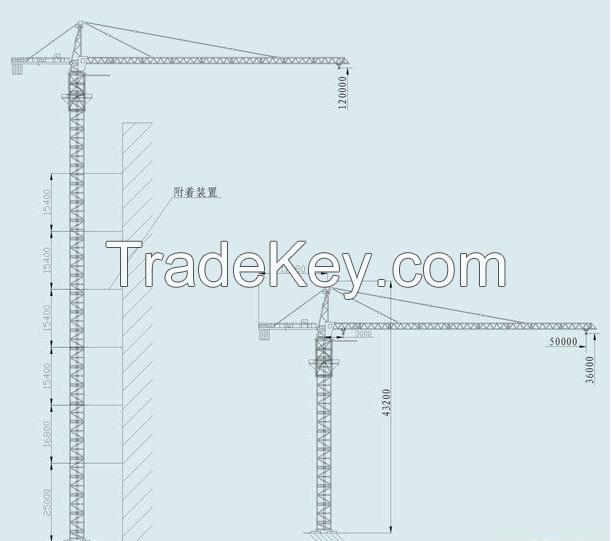 QTZ50(5008) Topkit tower crane