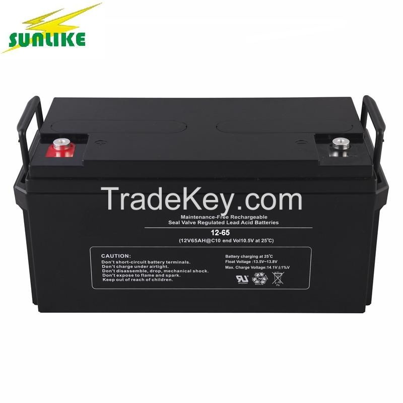 12V60ah High Capacity AGM/Deep Cycle Lead Acid Gel Battery Manufacturer