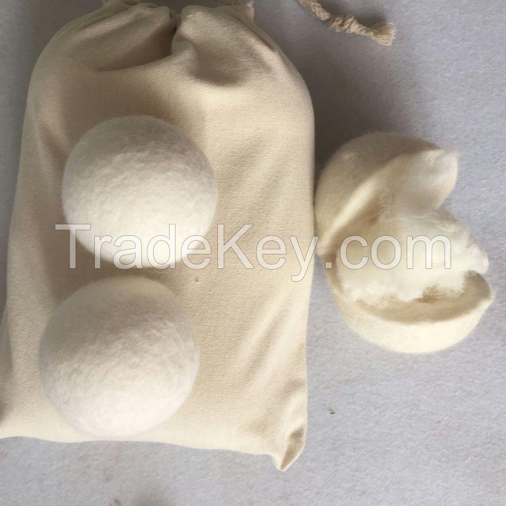 Good quality laundry dryer ball washing powder free laundry ball dryer llint balls