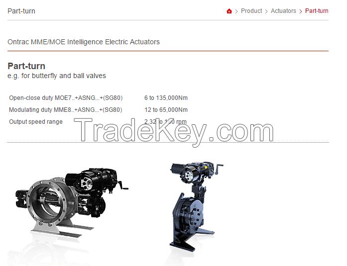 intelligent electric actuator