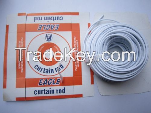 curtain stretch wire