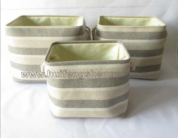 linenette basket set of 2