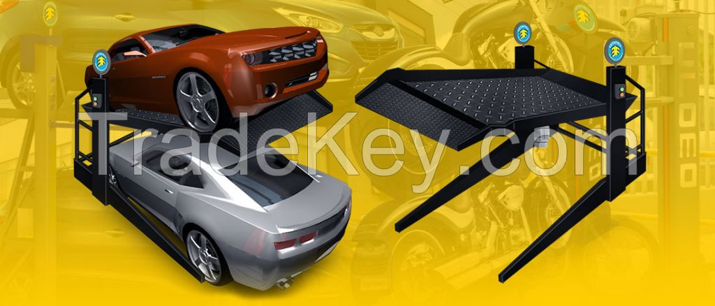 Compact Car Elevator Parking System