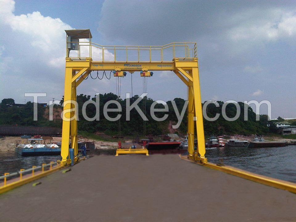 10 Ton BMH Model Electric Hoist  Gantry Cranes for sale