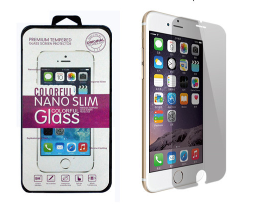 Premium Tempered Glass Screen Protector for Apple iPhone 7, Anti-glare