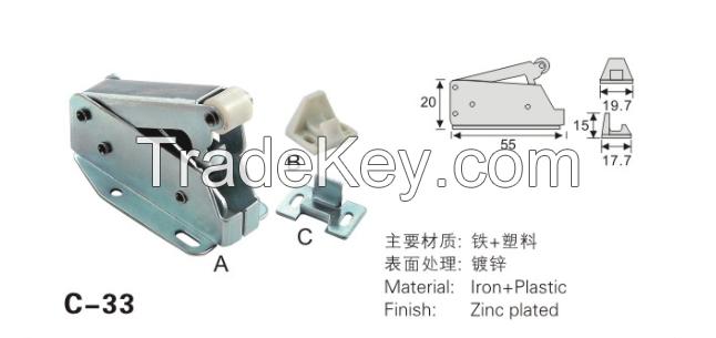 kitchen accessories cabinet door latch magnetic catcher