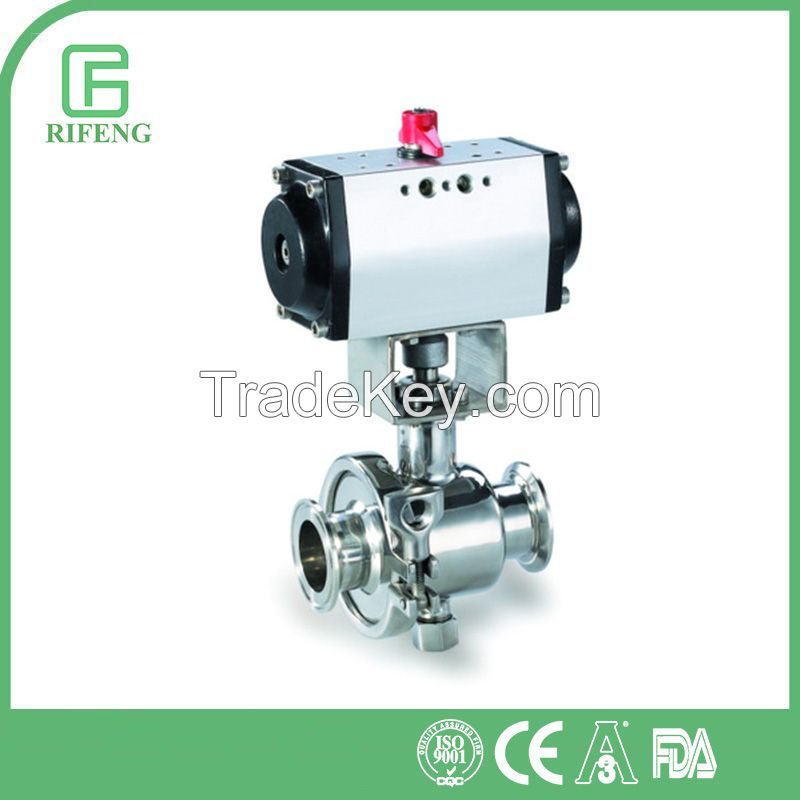 AISI 304, 316L Sanitary Stainless Steel Ball Valve