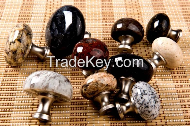 Cabinet Knobs, Drawer Pulls Handles kitchen cabinet knob pull handle furniture hardware granite knob granite pull granite handle stone knob stone pull stone handle