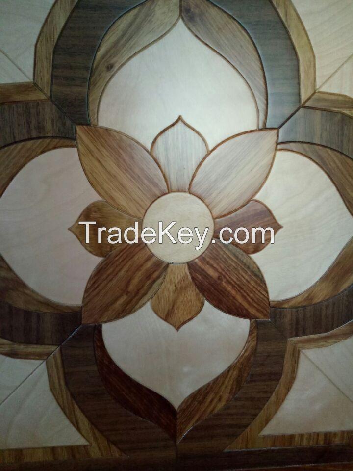 Engineered Luxurious Parquet European Wood Flooring