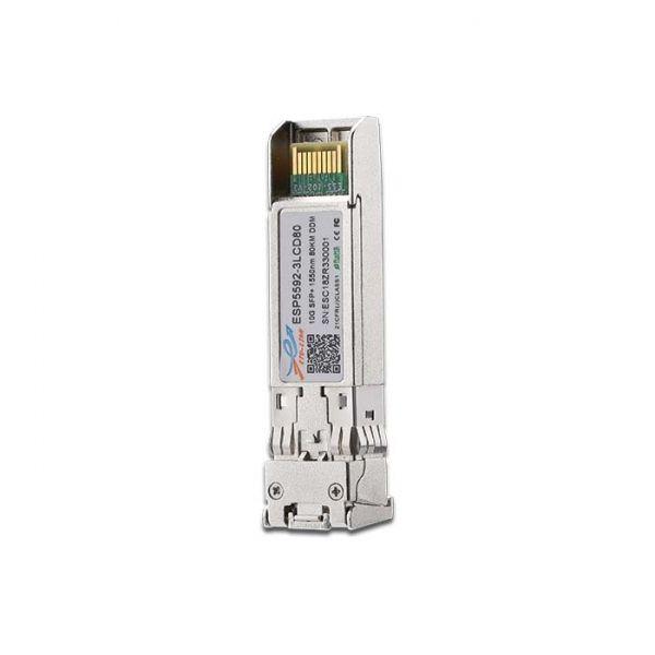 10GBASE-ZR SFP+ 1550NM 100KM OPTICAL TRANSCEIVER