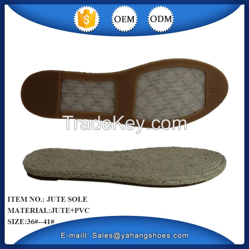 women hot selling casual shoes espadrilles jute sole