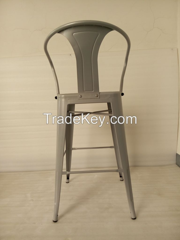 metal high stool chair bar stool