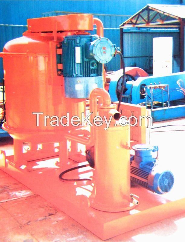 Vacuum Degasser for Oil drilling mud solids control