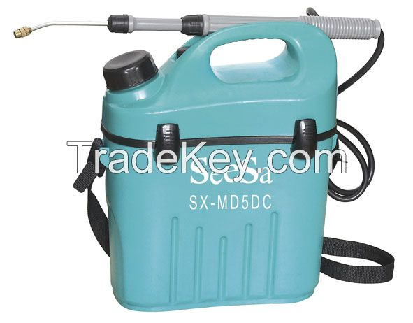 Dry Cell Electric Sprayer 5L Shoulder-Mounted Portable Sprayer