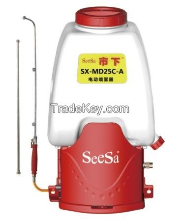 25L 5-13A three nozzles Knapsack/Backpack Agricultural Battery Sprayer