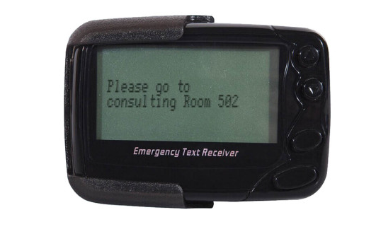 Pocsag pager wireless paging system text message receiver