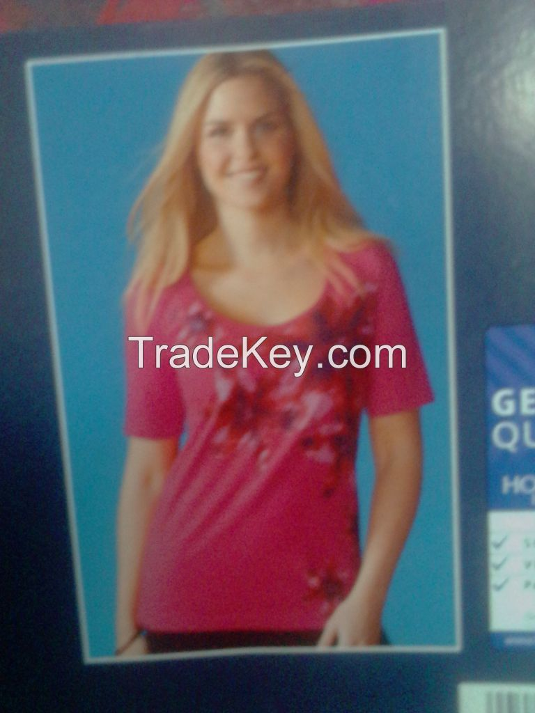 Cheep Ladies T-Shirt Stocklot In Bangladesh - Urgent Sale