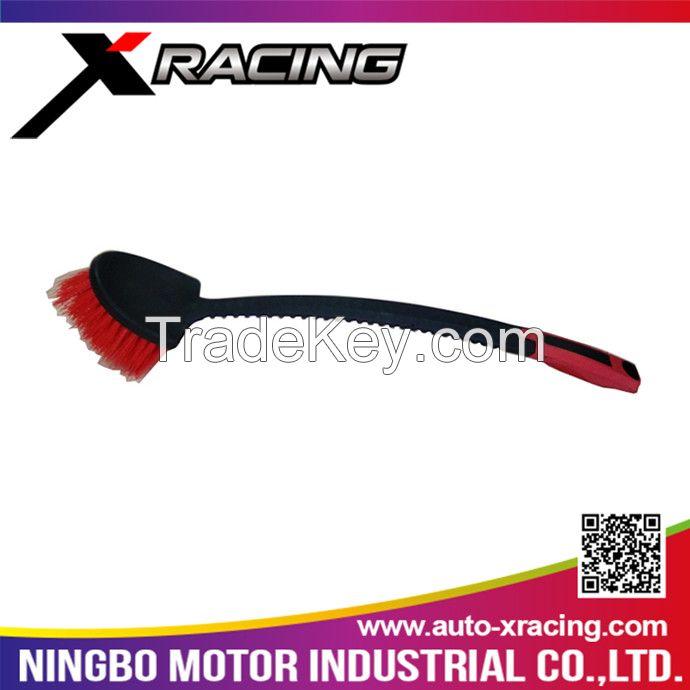 CBR006 Xracing car tyre wash brush,mini type car wheel brush,car washing brush