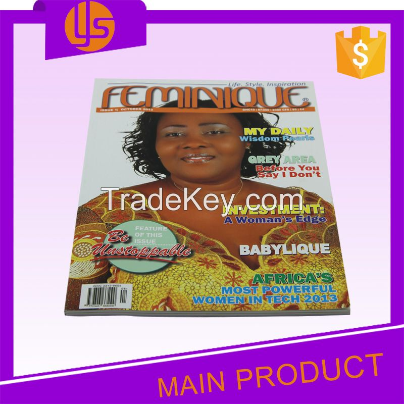 Cheap Custom Full Color Softcover Journal Adult Comic Paperback Magazine Book Printing Service