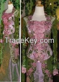 hand-tailored dress
