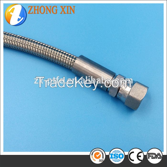 Strong high quality stainless steel teflon braided tube