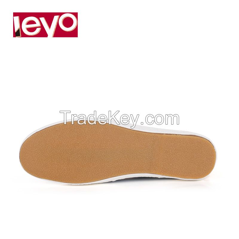 LEYO summer man shoes textile casual shoes fashion slip-on sneaker