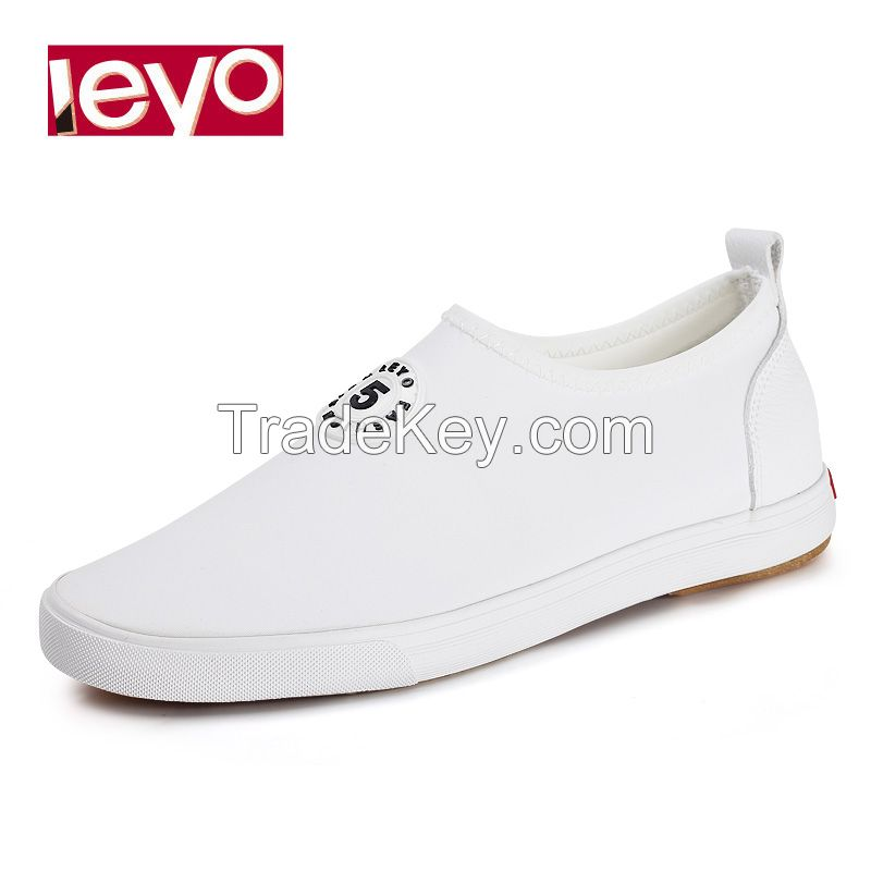 LEYO 2016 SUMMER WOMAN CASUAL SHOES ELASTIC CLOTH WITH PU SLIP-ON SNEAKER
