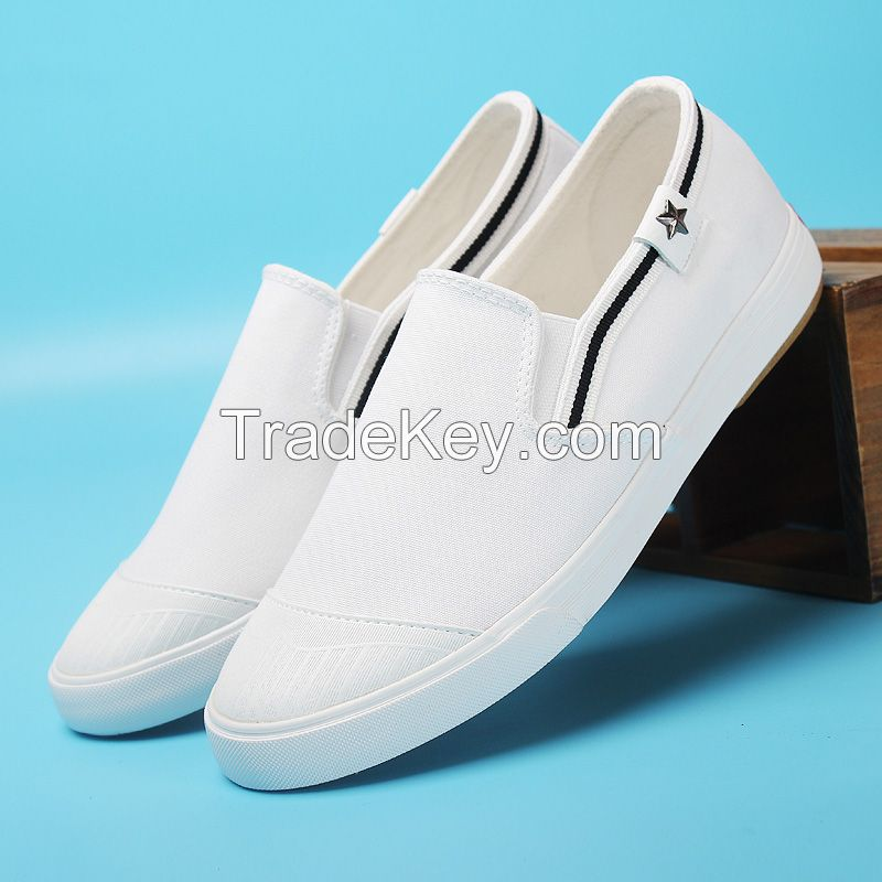 LEYO women casual shoes canvas slip-on sneaker