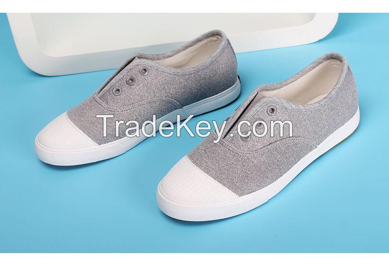 LEYO women casual shoe mesh slip-on sneaker