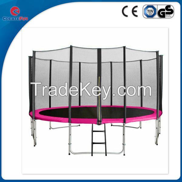 CreateFun 13ft Big Round trampoline with enclosure net