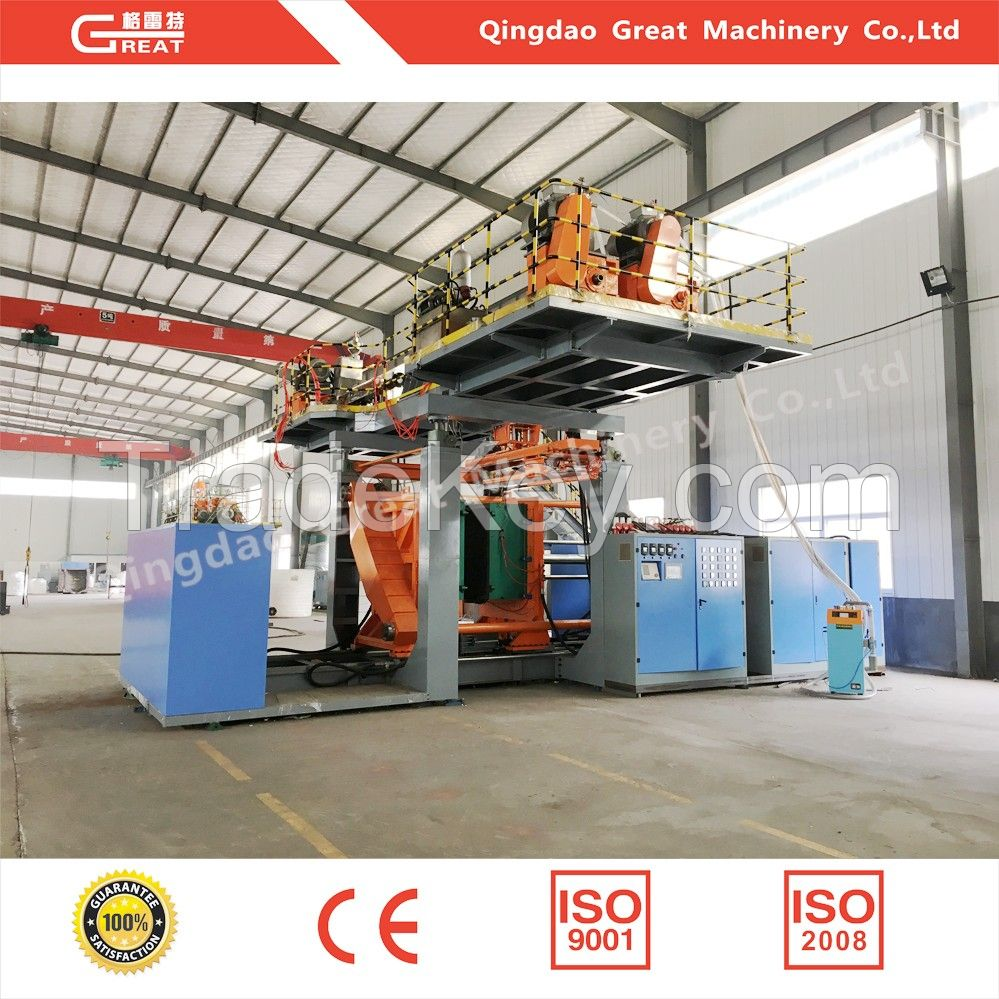 2000L Two Layers Plastic Blow Molding Machine for Clean Water Tank Making Machine Extruding