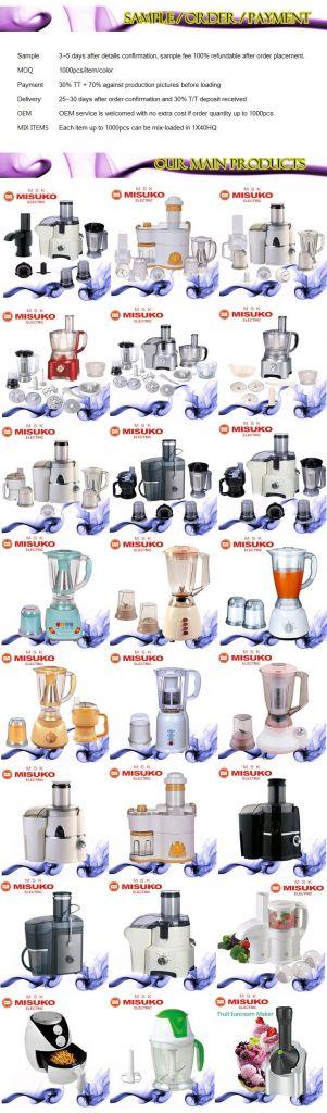 Kitchen multifunction electric juicer blender