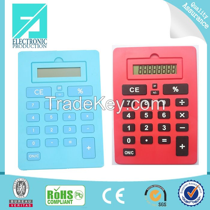 Fupu high quality 8 digits small basic calculator for promotion gifts